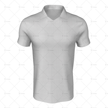 Classic Collar for Mens SS Inline Football Shirt Front View