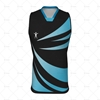 Mens AFL Vest Laker Collar Front View Design