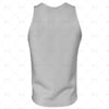 2D Kit Builder Athletics Singlet Small Neck with Round Collar Back View
