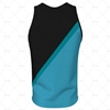 2D Kit Builder Athletics Singlet Small Neck with Round Collar Back View Design