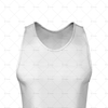 2D Kit Builder Athletics Singlet Small Neck with Round Collar Close Up View