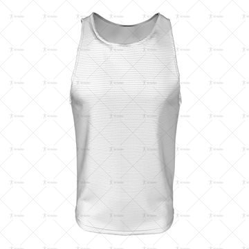 2D Kit Builder Athletics Singlet Large Neck Front View