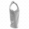 2D Kit Builder Athletics Singlet Large Neck Side View