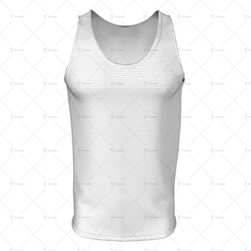 2D Kit Builder Athletics Singlet Extra Large Neck Front View