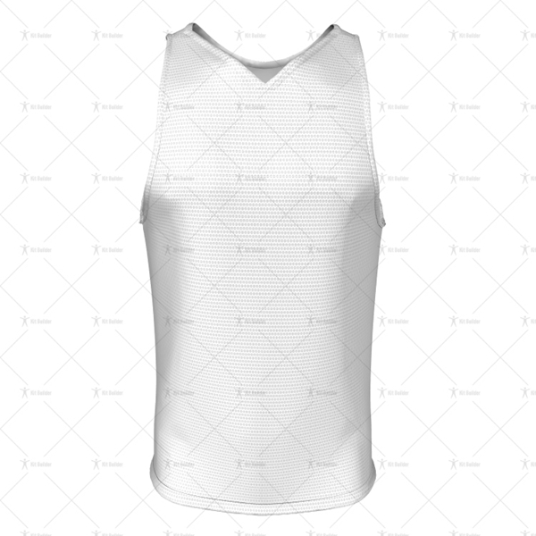 Men's Vest V-Neck Collar Front View