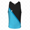 Men's Vest V-Neck Collar Front View Design
