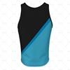 Men's Vest Round Collar Back View Design