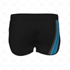 Women's Running Shorts Style 1 Back View Design