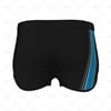 Women's Running Shorts Style 2 Back View Design