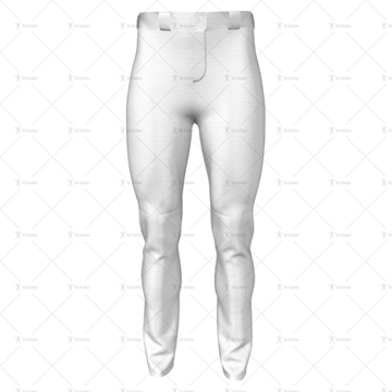 Baseball Pants Front View