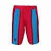 Basketball Shorts Panelled Front ViewDesign