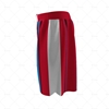 Basketball Shorts Panelled Side View Design