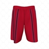 Basketball Shorts Panelled Back View Design