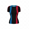 Compression Top Womens Short Sleeve Front Design
