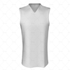 Basketball Singlet Long Laker Collar Front View