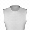 Basketball Singlet Long Pro Collar Close Up View