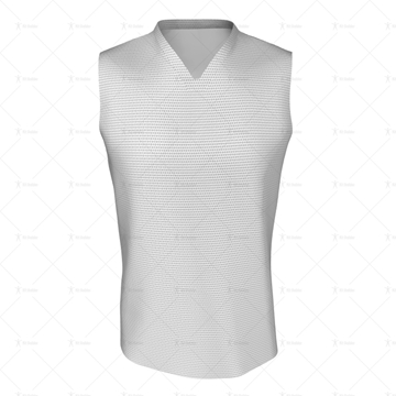 Basketball Singlet Short Laker Collar Front View