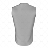Basketball Singlet Short Collar Side Back  View