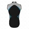 Mens Wind Vest with Back Pockets Back View Design
